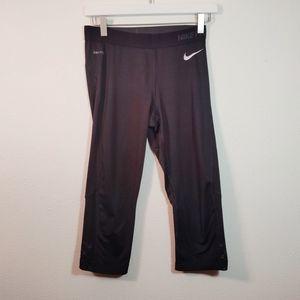 Nike Pro Black Crop Workout Leggings M
